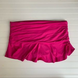 NWT Lands end skirt swimsuit bottoms PLUS SIZE 18
